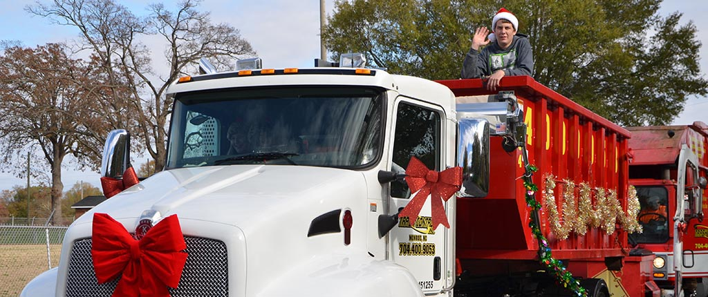 RED TRUCK in Parade